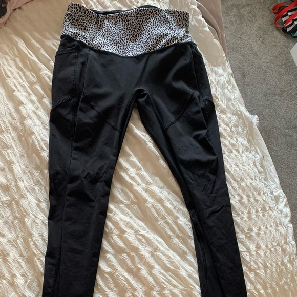 Lululemon full length tights. Size 8